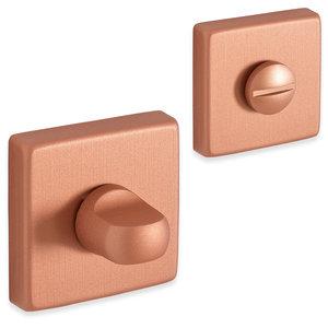Eliot rozet set - WC - vierkant - rosé goud 01